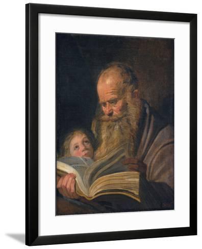 Saint Matthew the Evangelist-Frans I Hals-Framed Art Print
