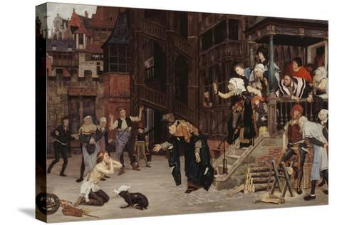 Return of the Prodigal Son-James Jacques Joseph Tissot-Stretched Canvas Print