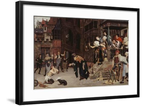 Return of the Prodigal Son-James Jacques Joseph Tissot-Framed Art Print