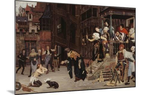 Return of the Prodigal Son-James Jacques Joseph Tissot-Mounted Giclee Print