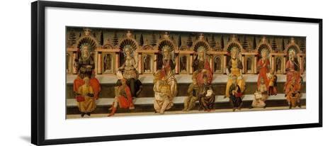 The Seven Liberal Arts-Giovanni Di Ser Giovanni-Framed Art Print