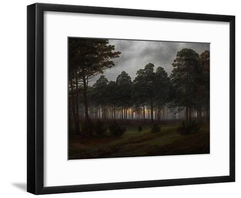 The Times of Day: the Evening, 1821-1822-Caspar David Friedrich-Framed Art Print