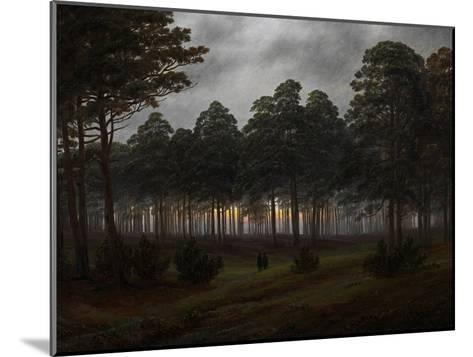 The Times of Day: the Evening, 1821-1822-Caspar David Friedrich-Mounted Giclee Print