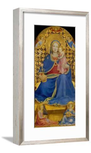 The Virgin of Humility-Fra Angelico-Framed Art Print