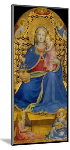 The Virgin of Humility-Fra Angelico-Mounted Giclee Print