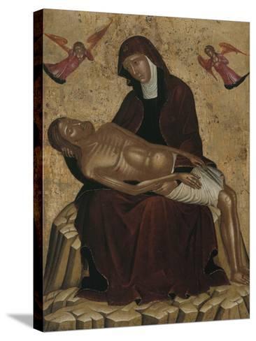 Pietà--Stretched Canvas Print