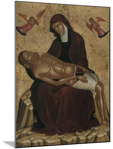 Pietà--Mounted Giclee Print
