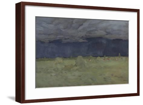 Hay-Making, 1900-Isaak Ilyich Levitan-Framed Art Print