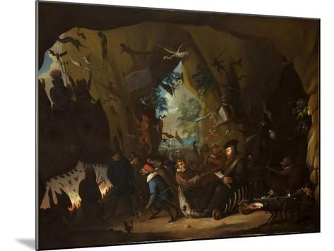 Calvin in Hell-Egbert van Heemskerk the Younger-Mounted Giclee Print