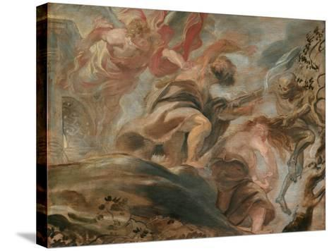 The Expulsion from the Garden of Eden-Peter Paul Rubens-Stretched Canvas Print