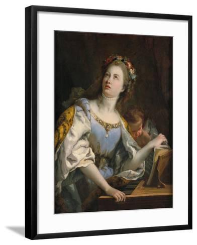 Saint Cecilia-Giambattista Tiepolo-Framed Art Print