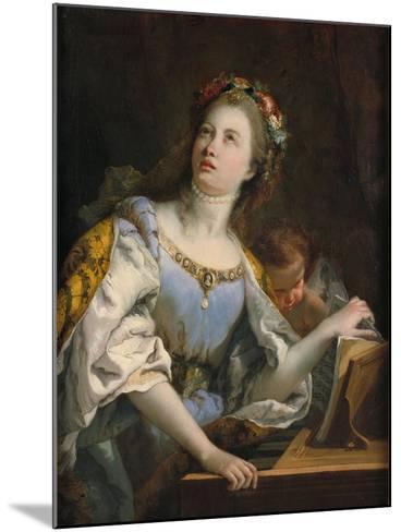Saint Cecilia-Giambattista Tiepolo-Mounted Giclee Print