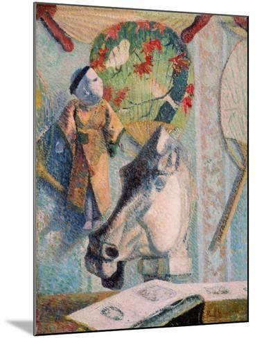 Still Life with Horse's Head-Paul Gauguin-Mounted Giclee Print