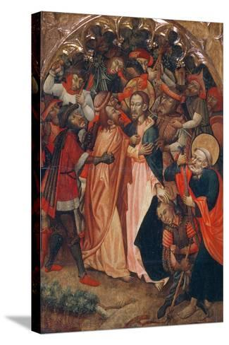 The Kiss of Judas--Stretched Canvas Print