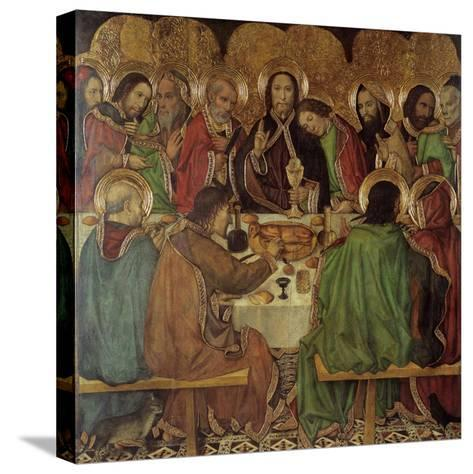 The Last Supper-Jaume Huguet-Stretched Canvas Print