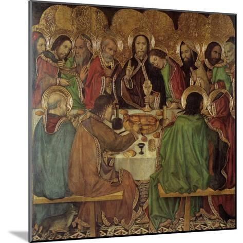 The Last Supper-Jaume Huguet-Mounted Giclee Print