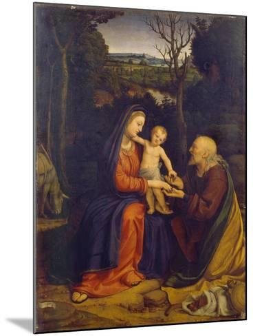 The Rest on the Flight into Egypt-Andrea Solari-Mounted Giclee Print