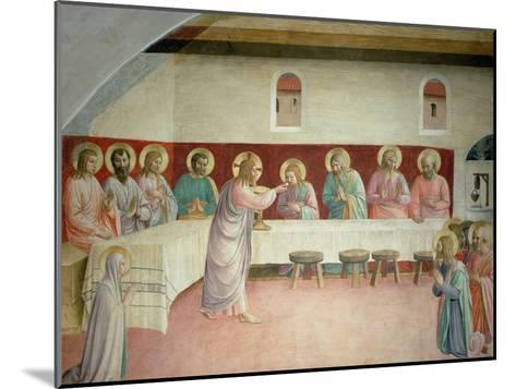 The Holy Communion and the Last Supper-Fra Angelico-Mounted Giclee Print