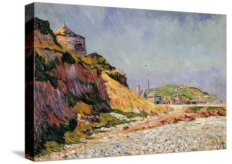 Port-En-Bessin, the Beach-Paul Signac-Stretched Canvas Print