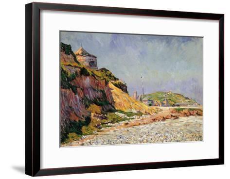 Port-En-Bessin, the Beach-Paul Signac-Framed Art Print