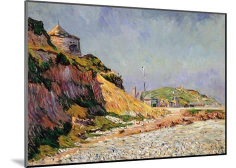 Port-En-Bessin, the Beach-Paul Signac-Mounted Giclee Print