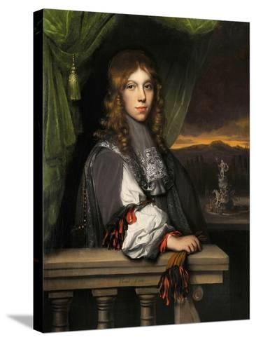 Portrait of Mattheus Van Den Broucke-Jacobus Leveck-Stretched Canvas Print
