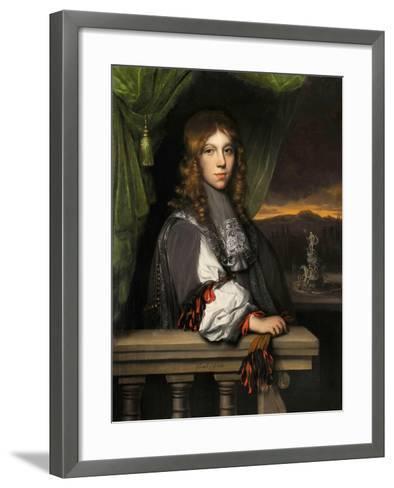 Portrait of Mattheus Van Den Broucke-Jacobus Leveck-Framed Art Print