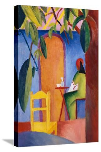 Turkish Cafe-August Macke-Stretched Canvas Print
