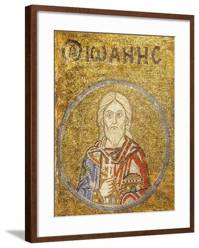 John, Martyr of Sebaste--Framed Art Print