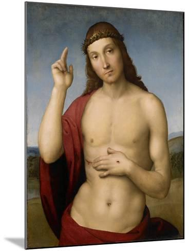 Christ Blessing-Raphael-Mounted Giclee Print