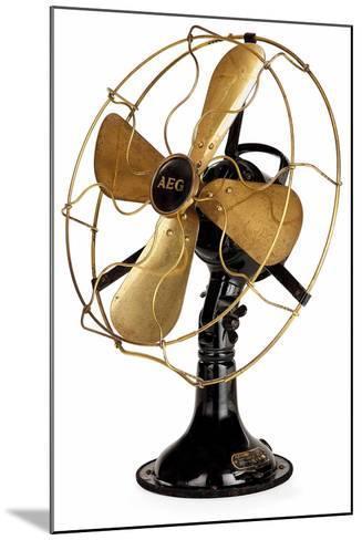Aeg Mechanical Fan-Peter Behrens-Mounted Giclee Print