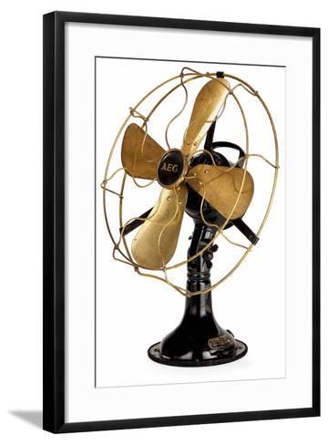 Aeg Mechanical Fan-Peter Behrens-Framed Art Print