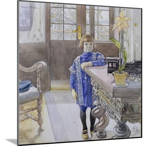Portrait of Tage Thiel-Carl Larsson-Mounted Giclee Print