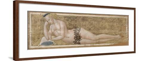 Reclining Young Man-Giovanni Di Ser Giovanni-Framed Art Print