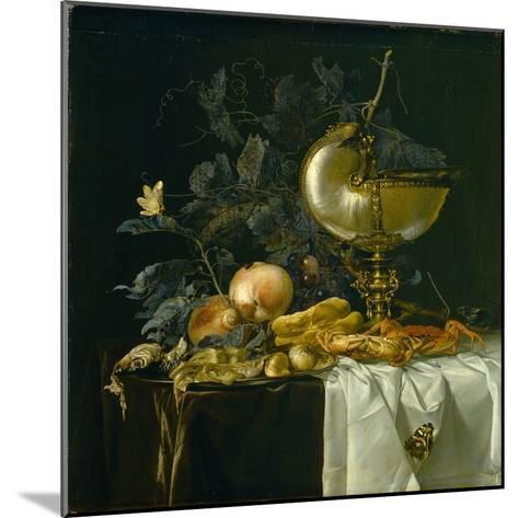 Still-Life with Nautilus Cup-Willem van Aelst-Mounted Giclee Print