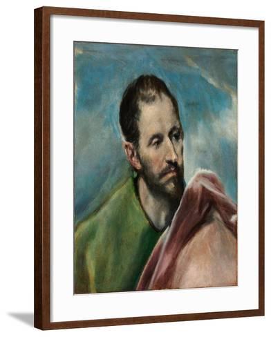 Saint James the Younger-El Greco-Framed Art Print
