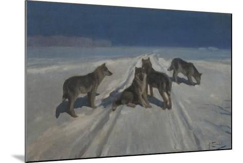 Wolves-Alexei Stepanovich Stepanov-Mounted Giclee Print