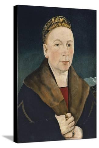 Portrait of a Man-Martin Schaffner-Stretched Canvas Print