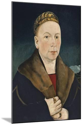 Portrait of a Man-Martin Schaffner-Mounted Giclee Print