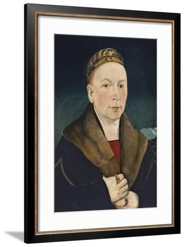 Portrait of a Man-Martin Schaffner-Framed Art Print