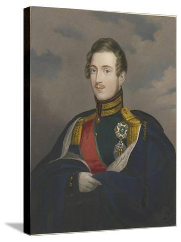 Grand Duke Constantine Pavlovich of Russia (1779-183), 1825--Stretched Canvas Print