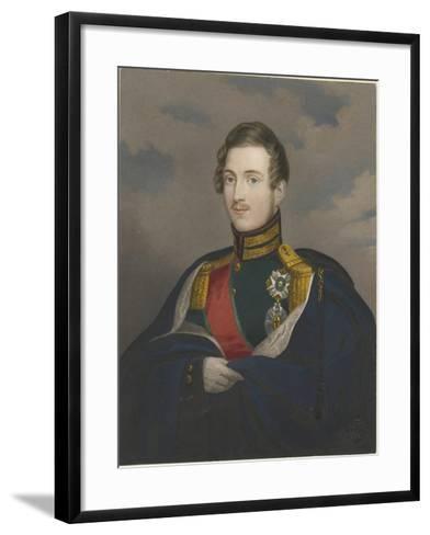 Grand Duke Constantine Pavlovich of Russia (1779-183), 1825--Framed Art Print