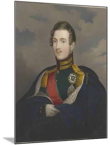 Grand Duke Constantine Pavlovich of Russia (1779-183), 1825--Mounted Giclee Print