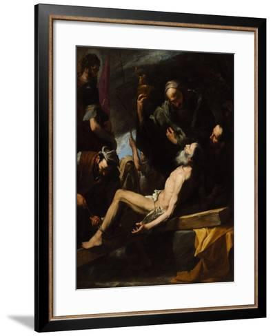 Martyrdom of Saint Andrew-Jos? de Ribera-Framed Art Print
