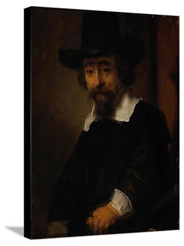 Portrait of Ephraim Bueno-Rembrandt van Rijn-Stretched Canvas Print
