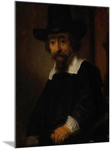 Portrait of Ephraim Bueno-Rembrandt van Rijn-Mounted Giclee Print