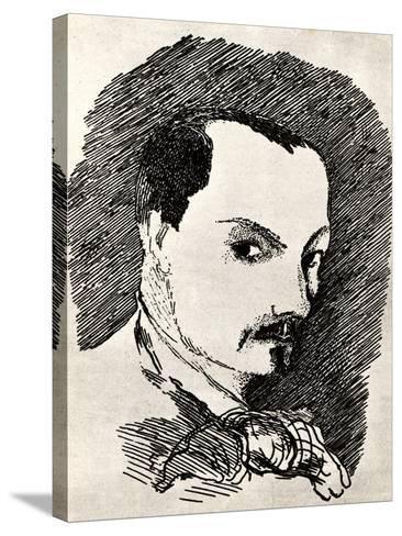 Charles Baudelaire (1821-186)-Henri de Toulouse-Lautrec-Stretched Canvas Print