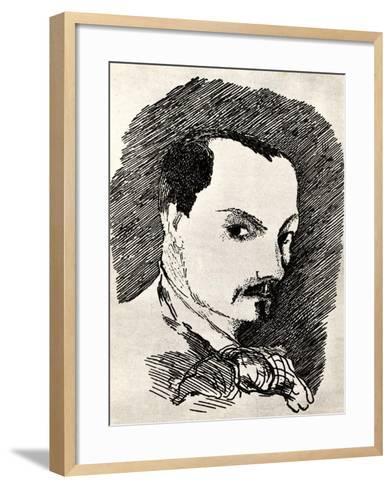 Charles Baudelaire (1821-186)-Henri de Toulouse-Lautrec-Framed Art Print