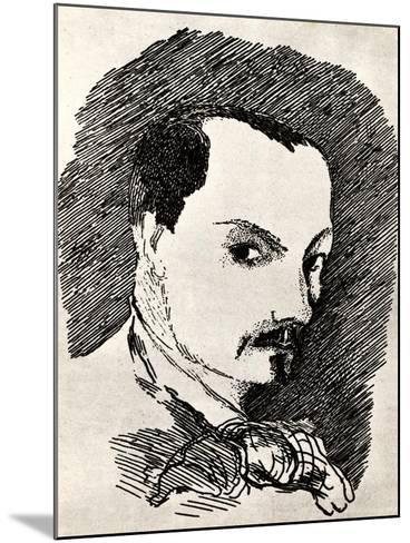 Charles Baudelaire (1821-186)-Henri de Toulouse-Lautrec-Mounted Giclee Print