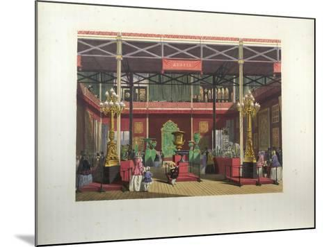 Russian Exhibition Interior During the Great Exhibition in 1851-Joseph Nash-Mounted Giclee Print